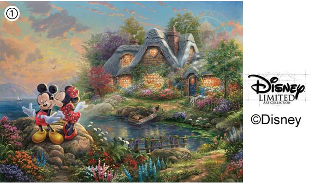 博多阪急「~ディズニーの夢と魔法の世界をあなたへ~ ファンタジーアート&コレクションフェア」開催!