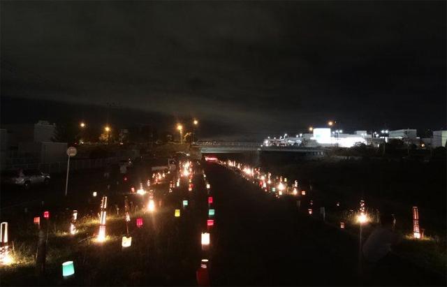 8種5万株の彼岸花を竹灯籠などでライトアップ「第6回 高良川彼岸花まつり」開催!