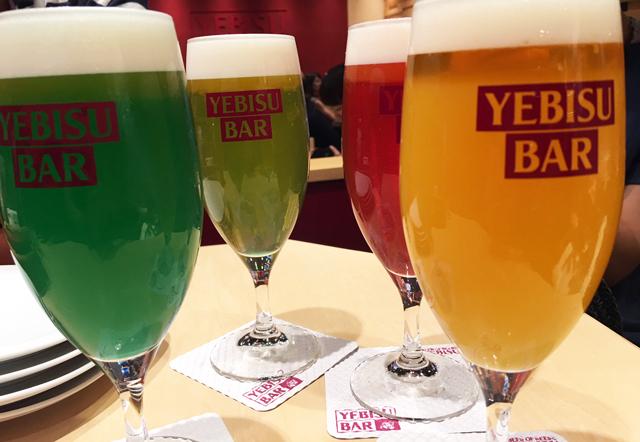 九州初出店の『YEBISU BAR 博多1番街店』専用アプリでもっとお得に!