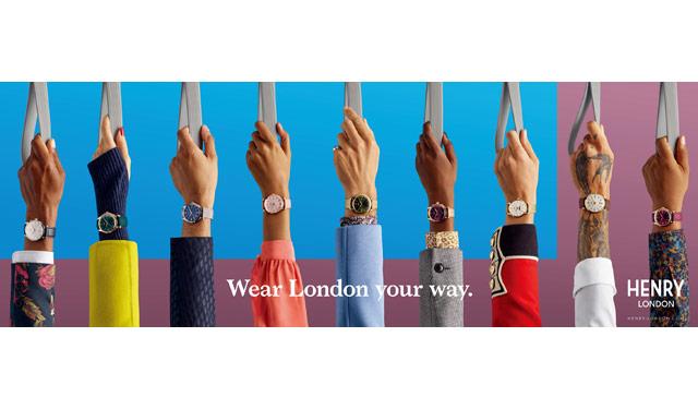 英国腕時計ブランド「ヘンリーロンドン」の期間限定ショップが 博多阪急にオープン!