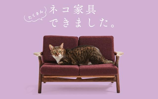 大川木工まつり「ネコ家具EXPO」開催決定