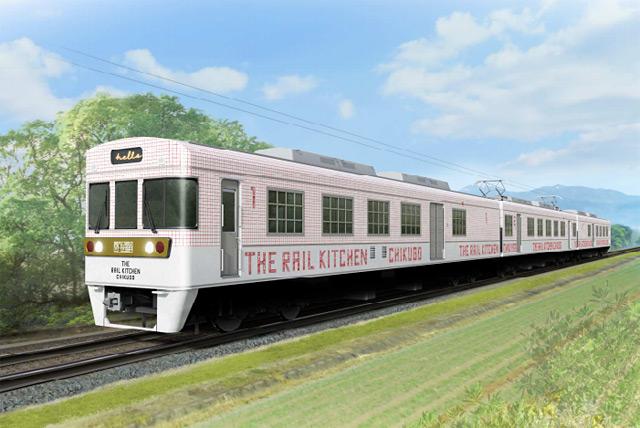 西鉄の観光列車「THE RAIL KITCHEN CHIKUGO」運行開始日が決定!
