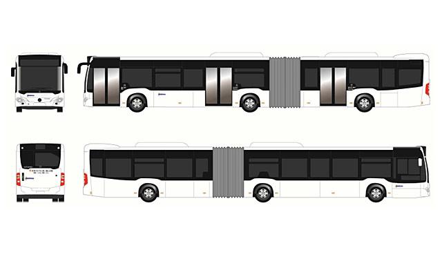 2019年夏、北九州市に連節バス導入決定