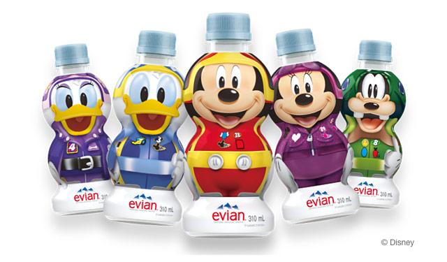 エビアンからキュートな「ディズニーデザインボトル」全5種発売へ