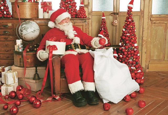 博多と天神の「Afternoon Tea LIVING」に公認サンタがやってくる