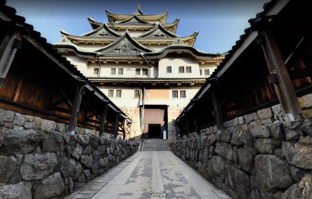 閉館した名古屋城天守をGoogleストリートビューで公開