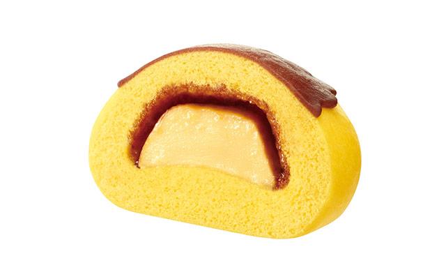 ミニストップから「まるごとプリンまん」「まるごとチョコプリンまん」の2品発売