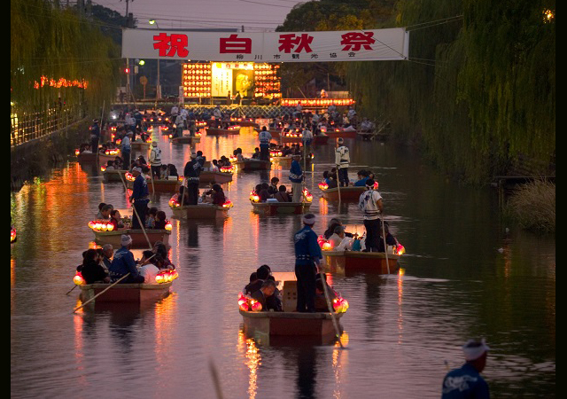 柳川市で北原白秋を偲ぶ「第66回 白秋祭水上パレード」開催へ