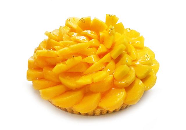 カフェコムサ×福岡県『福岡県産の甘柿「秋王」のケーキ』全国発売