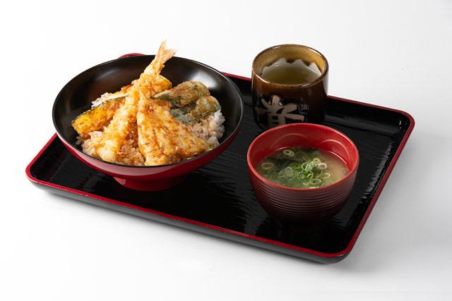 天丼(690円)