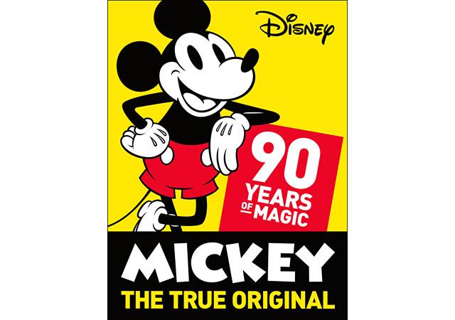 ミッキーマウススクリーンデビュー90周年を祝うコレクション発売