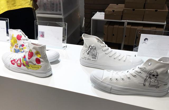 九州初登場!その場でお好きな デザインをシューズにプリント『White atelier By CONVERSE』ポップアップストア期間限定オープン!