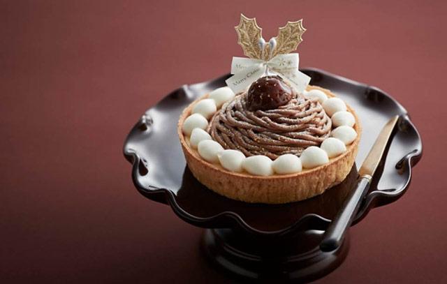 モロゾフから「クリスマス モンブランのチーズケーキ」発売