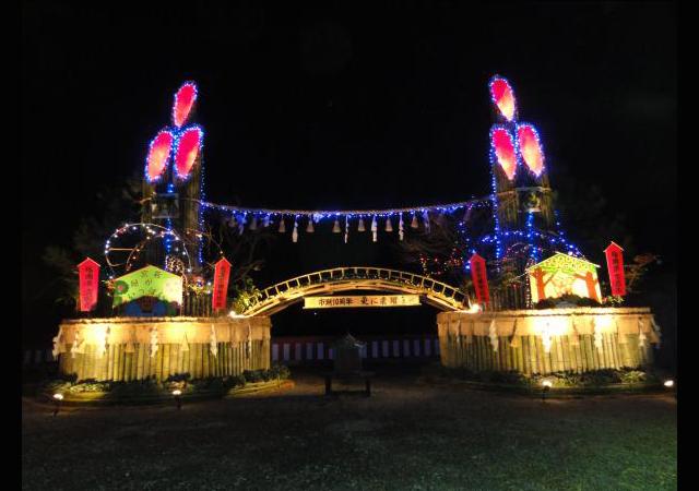 「第23回 日本一の大門松ライトアップ」12月8日に点灯!