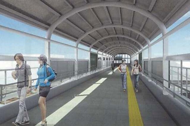 路面電車204号が大牟田駅西口駅前広場に移設決定