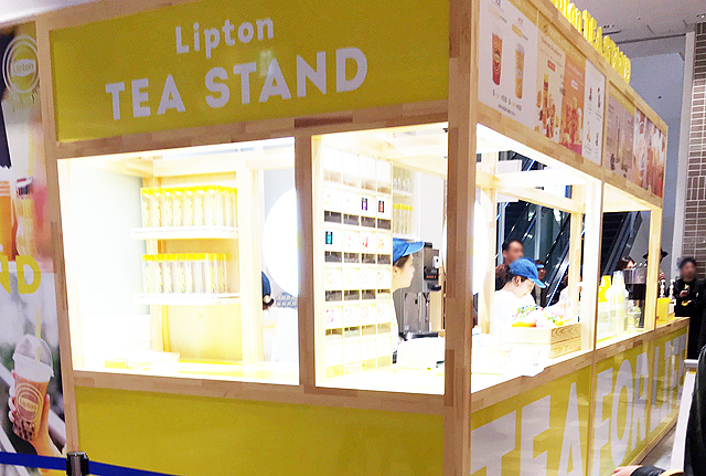 博多マルイに紅茶専門店「リプトン ティー スタンド」常設店オープン!