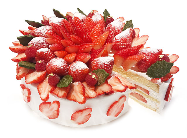 カフェコムサから「国産いちごのショートケーキ」発売