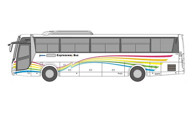 西鉄が高速バスのデザインを28年ぶりに一新