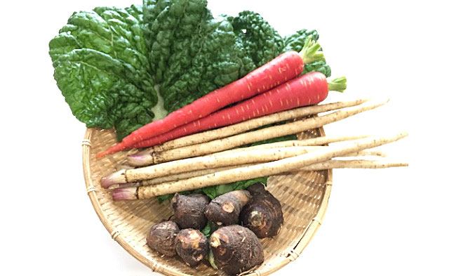 正月料理用の食材