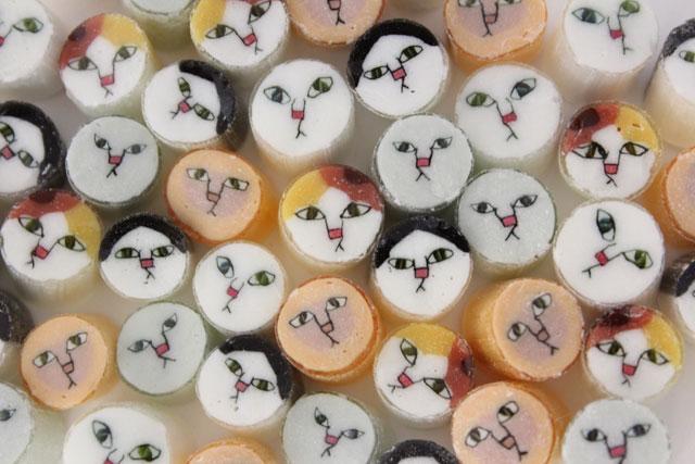 パパブブレが「猫祭り」開催、キャンディのニャンコ絵柄大募集