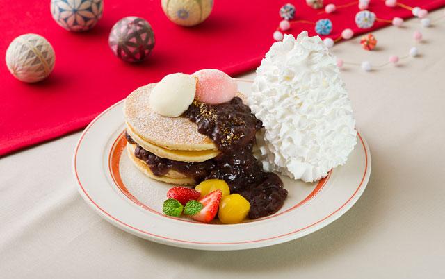 エッグスンシングスから「新年を華やかに彩る和風パンケーキ」期間限定発売