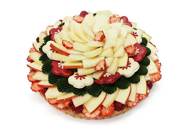 カフェコムサから正月限定『Happy New Yearケーキ』の予約受付開始へ