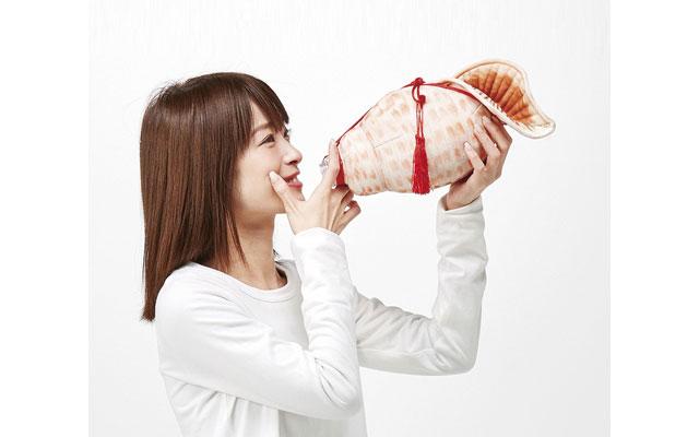 フェリシモから「ほら貝ペットボトルケース」発売開始