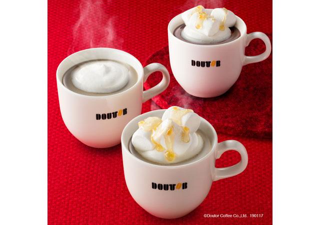 ドトールコーヒーで「冬の新作メニュー」発売へ