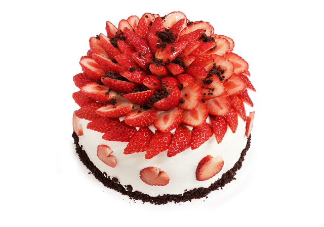 カフェコムサが「いちごの日のケーキ」を販売
