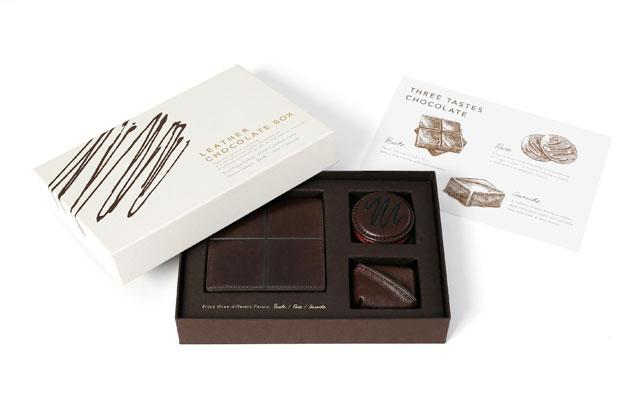 土屋鞄製造所からチョコレートのような「ステーショナリーセット」発売へ
