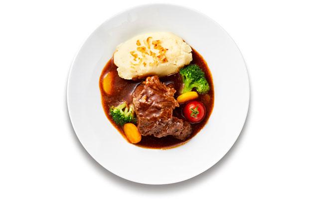 「牛ほほ肉のシチュー 赤ワイン煮込み」IKEA FAMILYメンバー限定価格 1,290円/通常価格 1,390円