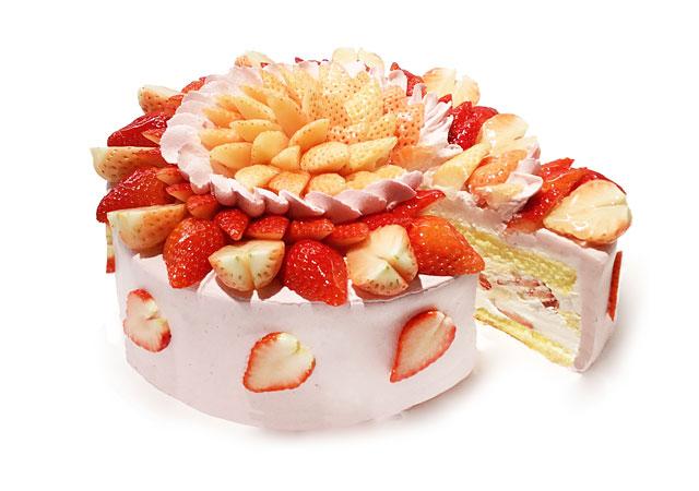 カフェコムサから1月の「ショートケーキの日」限定ケーキ発売へ
