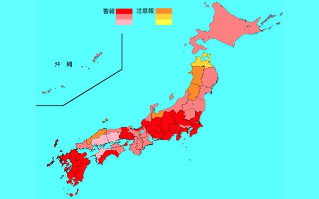 インフルエンザ感染拡大 福岡県は全国6位(警報レッド)