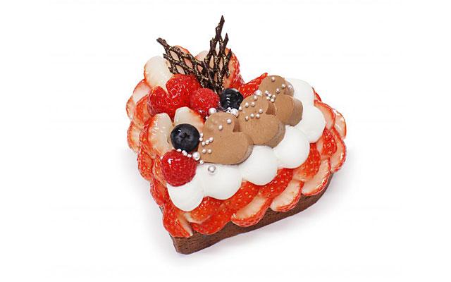 カフェコムサが『バレンタイン限定ケーキ』の予約開始