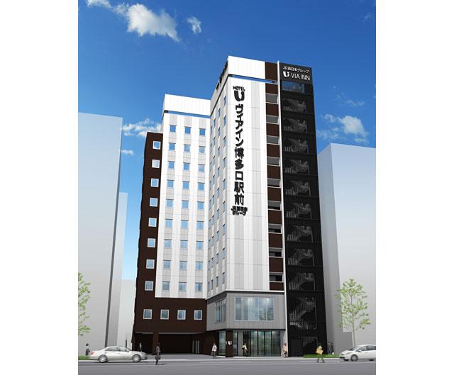宿泊特化型ホテル「ヴィアイン博多口駅前」今夏開業へ