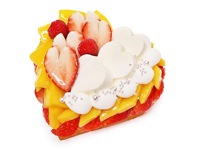 カフェコムサからホワイトデーに向けての「ハート型の限定ケーキ」予約開始