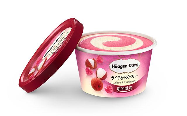 ハーゲンダッツからミニカップの新商品『ライチ&ラズベリー』発売へ
