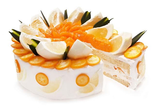 カフェコムサ、3月の「ショートケーキの日」は『3種の柑橘のショートケーキ』