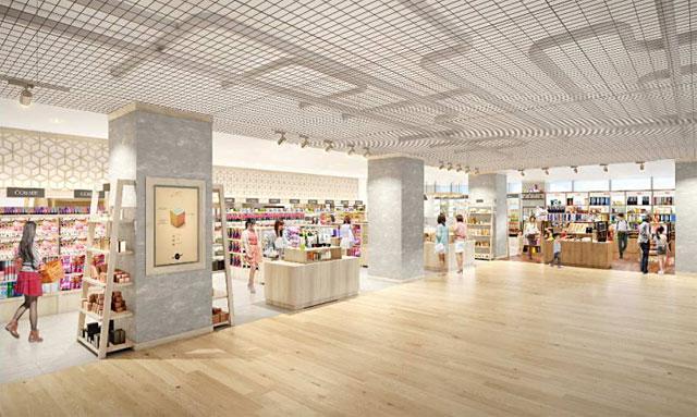 西新のプラリバ跡地に開発中の商業施設に『プラットインキューブ西新店』出店決定