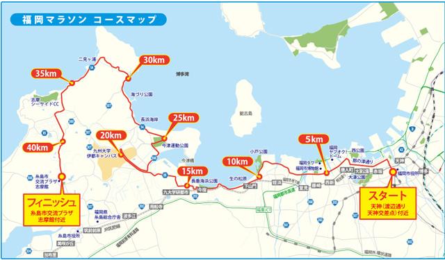 「福岡マラソン2019」4月15日エントリー開始!