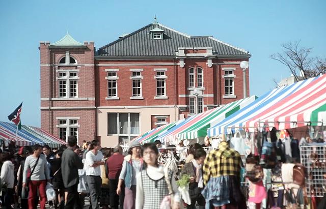 門司港レトロ地区一帯で「門司港グランマーケット(春)」開催