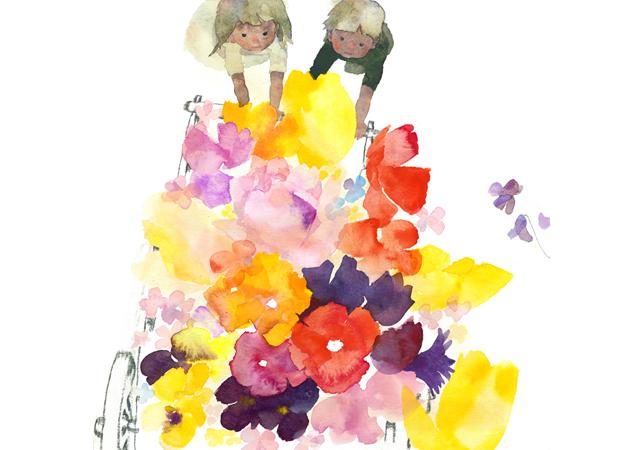 福岡アジア美術館「生誕100年 いわさきちひろ、絵描きです。」展覧会