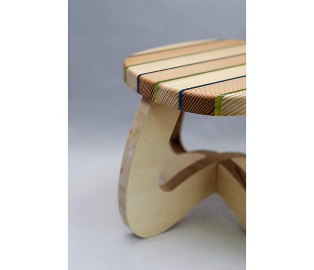グッデイ×日田市のカネサダ横尾木工所「虹彩杉」使用の子ども椅子WS開催へ