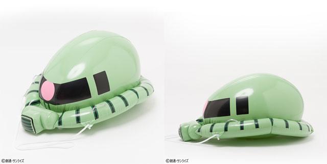 モビルスーツ浮輪『シャア専用ザク フロート』『量産型ザク フロート』の予約受付開始へ