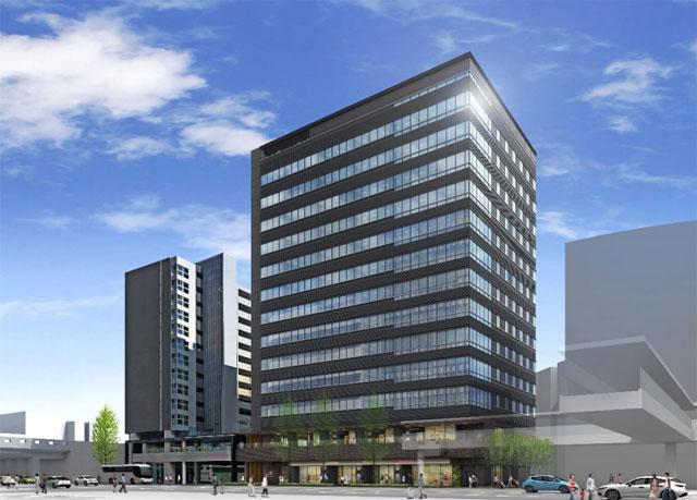 三菱地所が博多駅に近接したオフィスビル開発へ