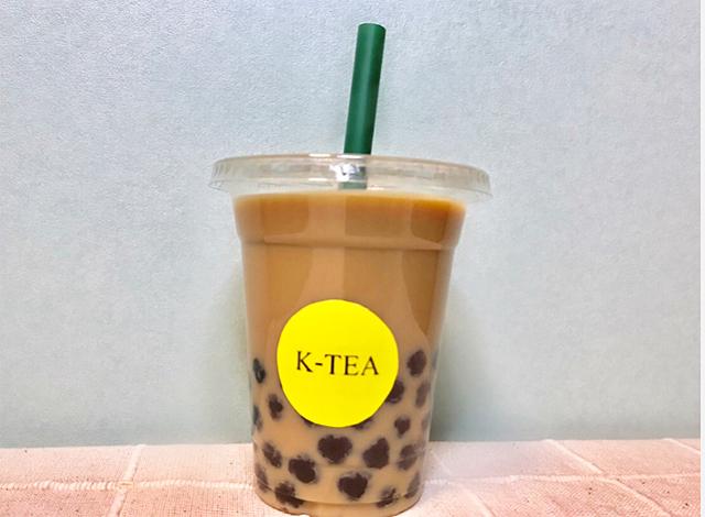 小倉にテイクアウト専門タピオカミルクティの店「K-TEA」オープン!