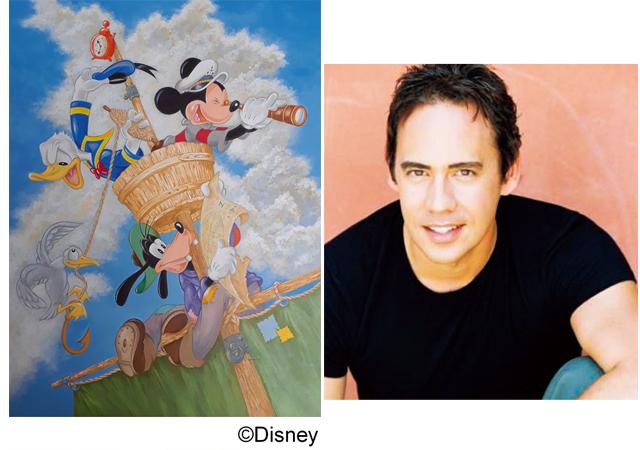 博多阪急「ファンタジーアート&コレクションフェア~ディズニーの夢の世界をあなたへ~」開催!