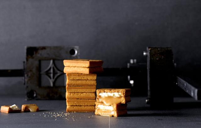 濃厚なバター&キャラメルクリーム「プレスバターサンド」期間限定ショップ