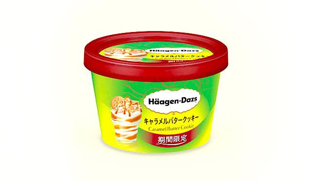 ハーゲンダッツからミニカップの新商品『キャラメルバタークッキー』発売