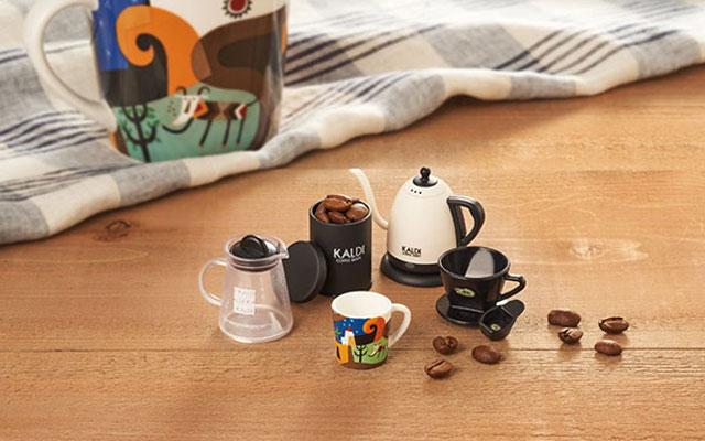 カルディの「オリジナルコーヒー豆」購入で非売品のフィギュアがプレゼント
